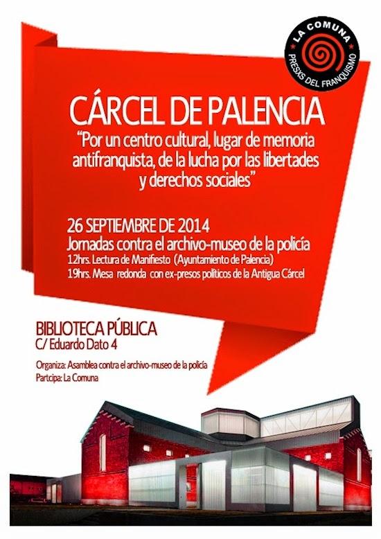Cárcel de Palencia - 26 de septiembre de 2014