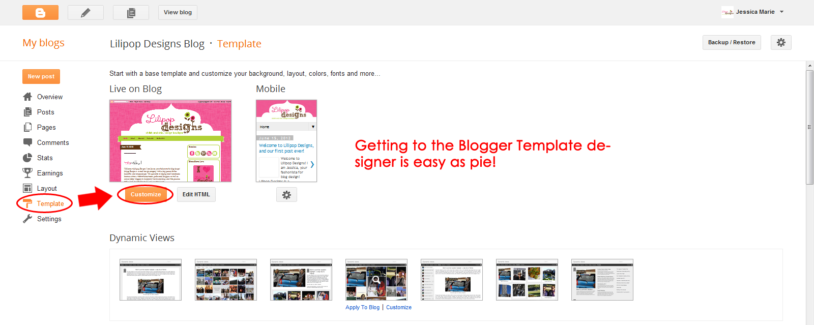 template for blogger html code - how to customize blogger template background color