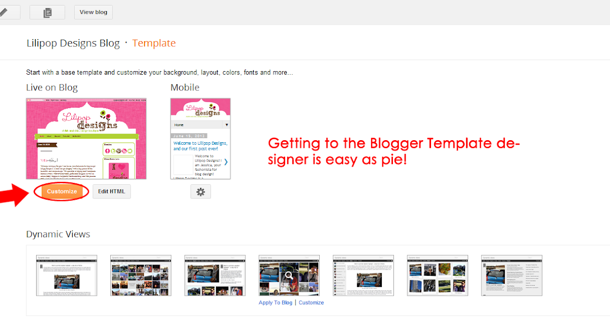 How to Customize Blogger Template Background Color | Blogger ...