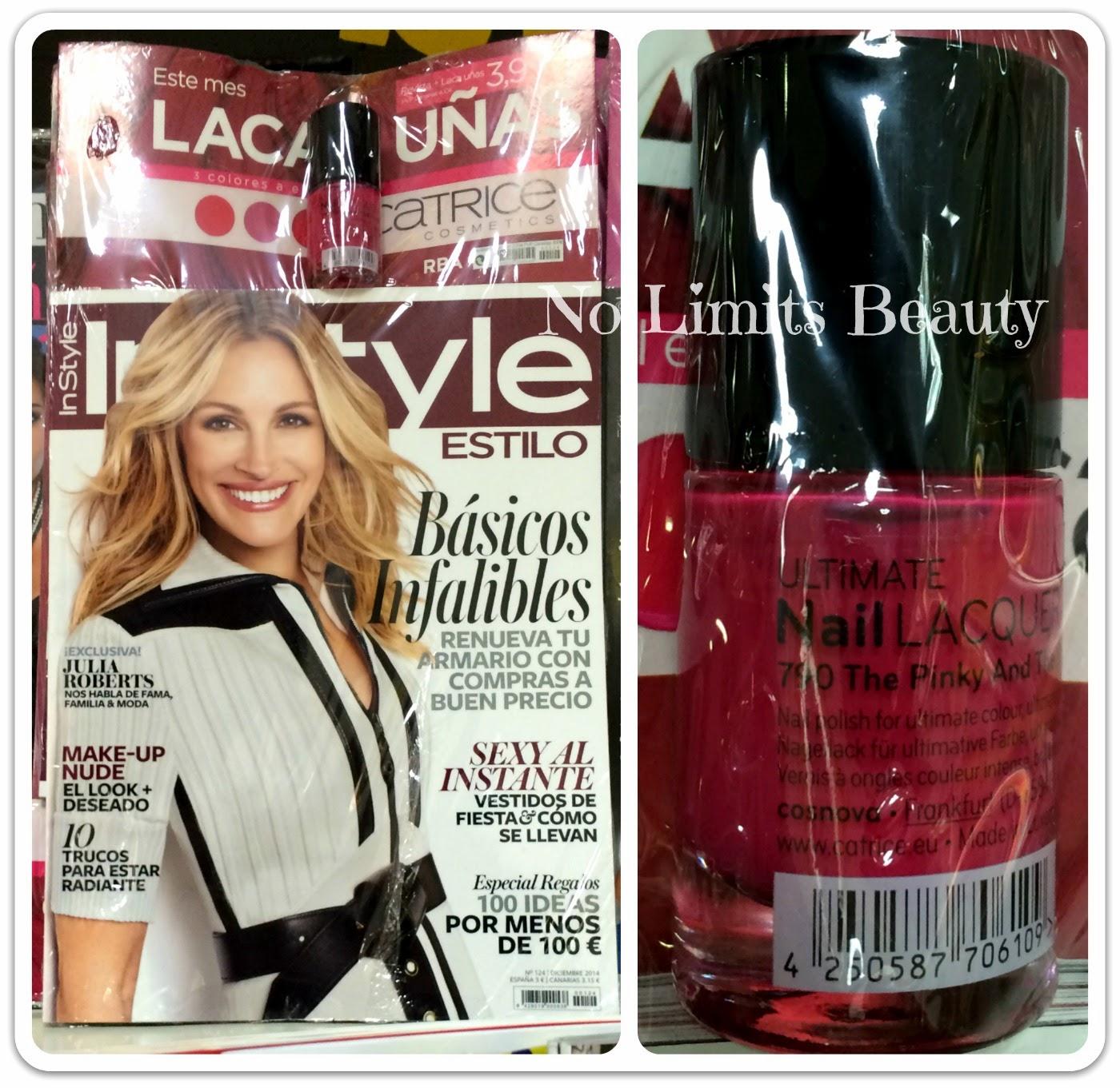 Regalos revistas Diciembre 2014: In Style