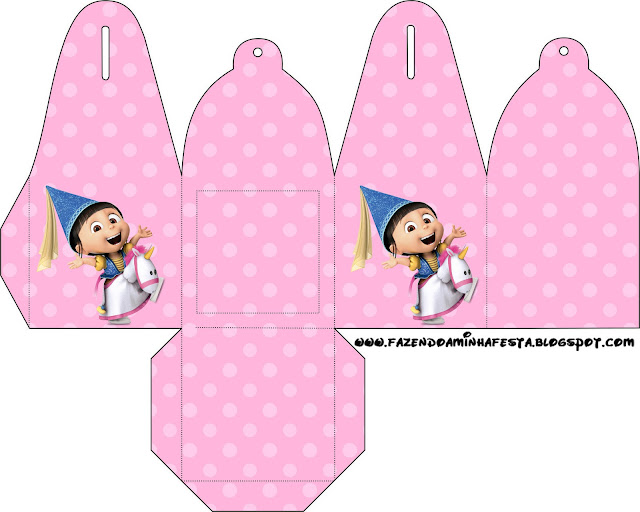 Despicable Me: Party Favor Boxes Free Printables.