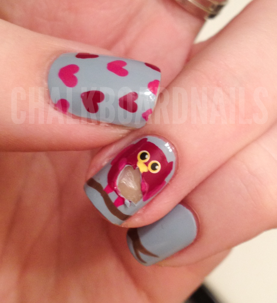 Orly Nail Rescue to the Rescue | Chalkboard Nails | Nail Art Blog