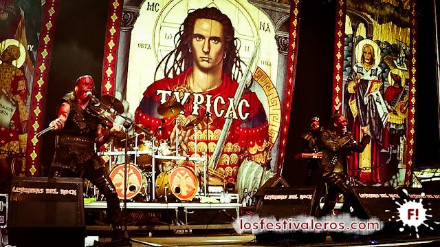 Turisas. Festival Leyendas del Rock 2015