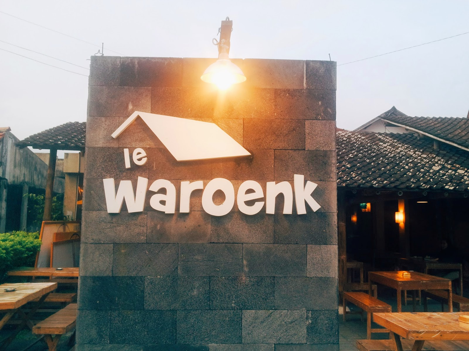 Le Waroenk on Jalan Cik Ditiro, Jogja