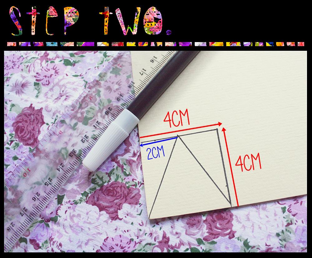 ini hasil akhirnya, jumlah segitiganya ada 13buah