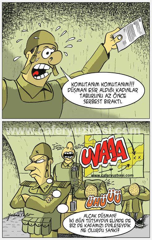 kadinlar taburu-Kadinlar Asker Olursa?