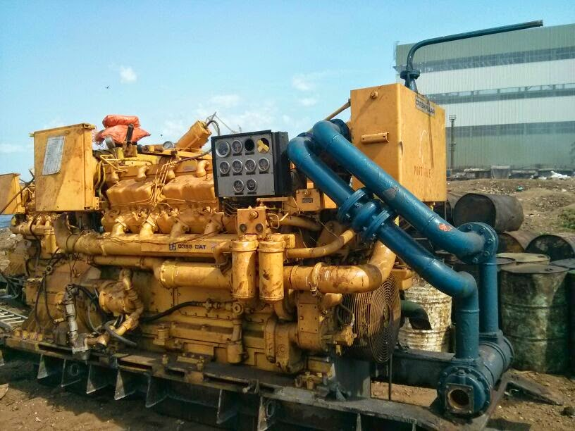 CAT D 398 marine engines and gearbox, caterpillar D398 main engine
