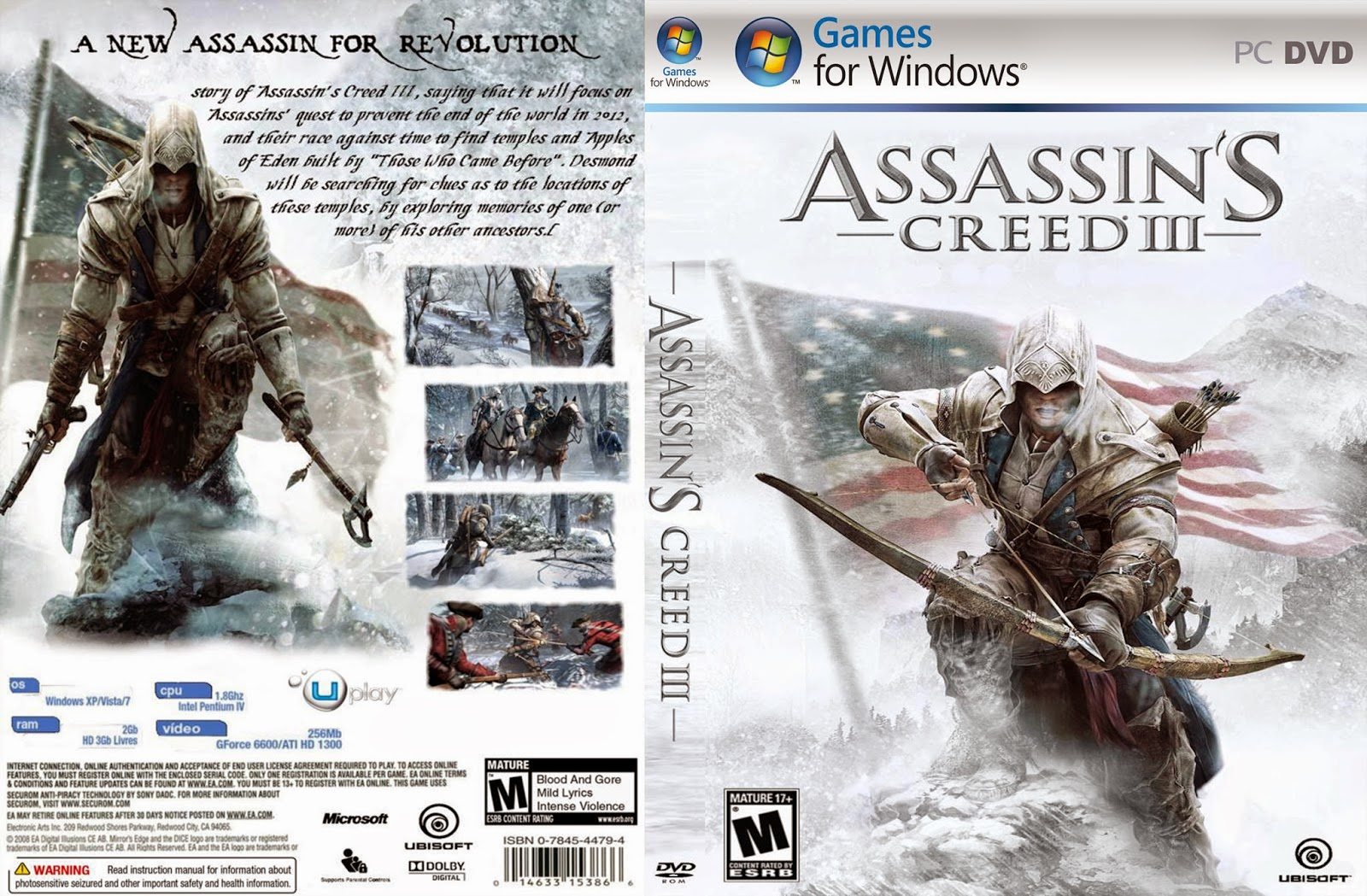 تحميل لعبة assassins creed 3 برابط واحد مباشر