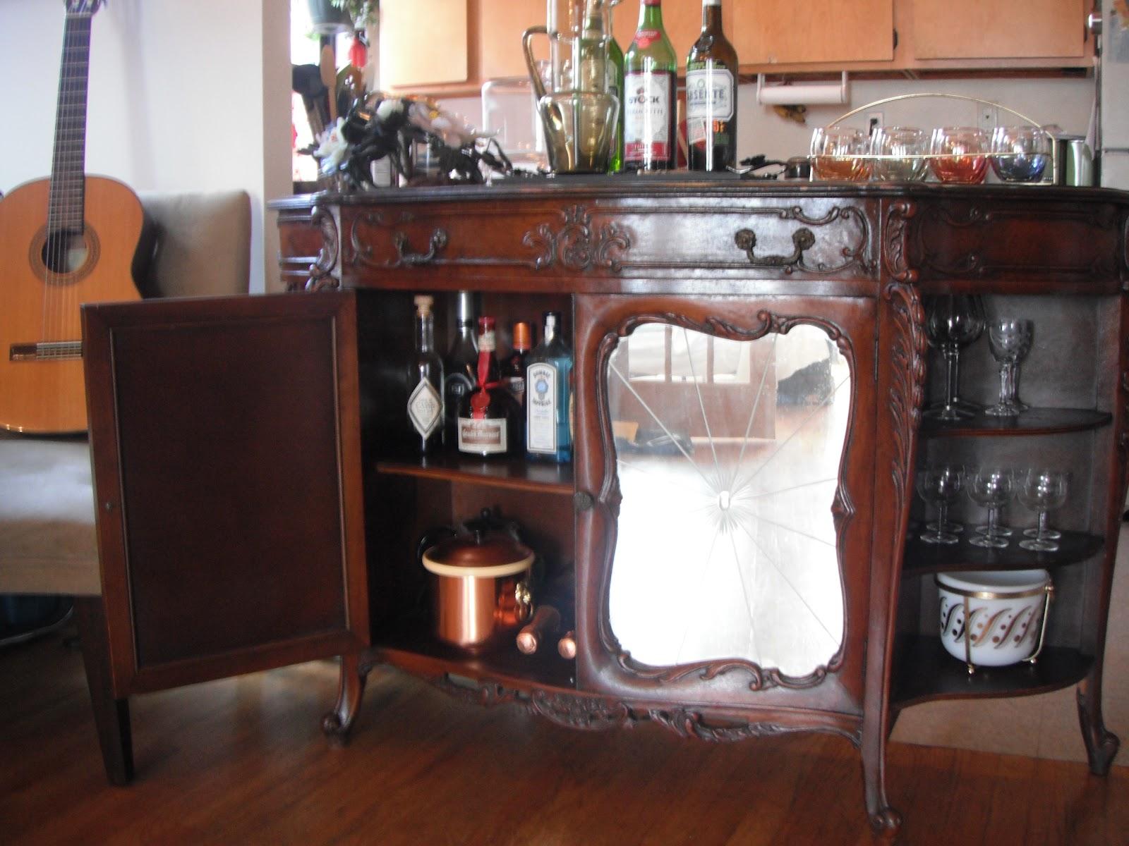 Portable Liquor Cabinet Bobbins And Bombshells My Vintage Vanity 1950s Liquor Cabinet