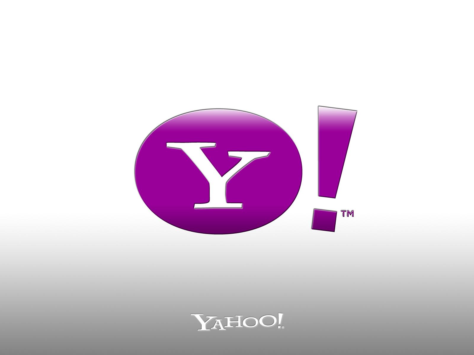 Yahoo Logo HD Wallpaper