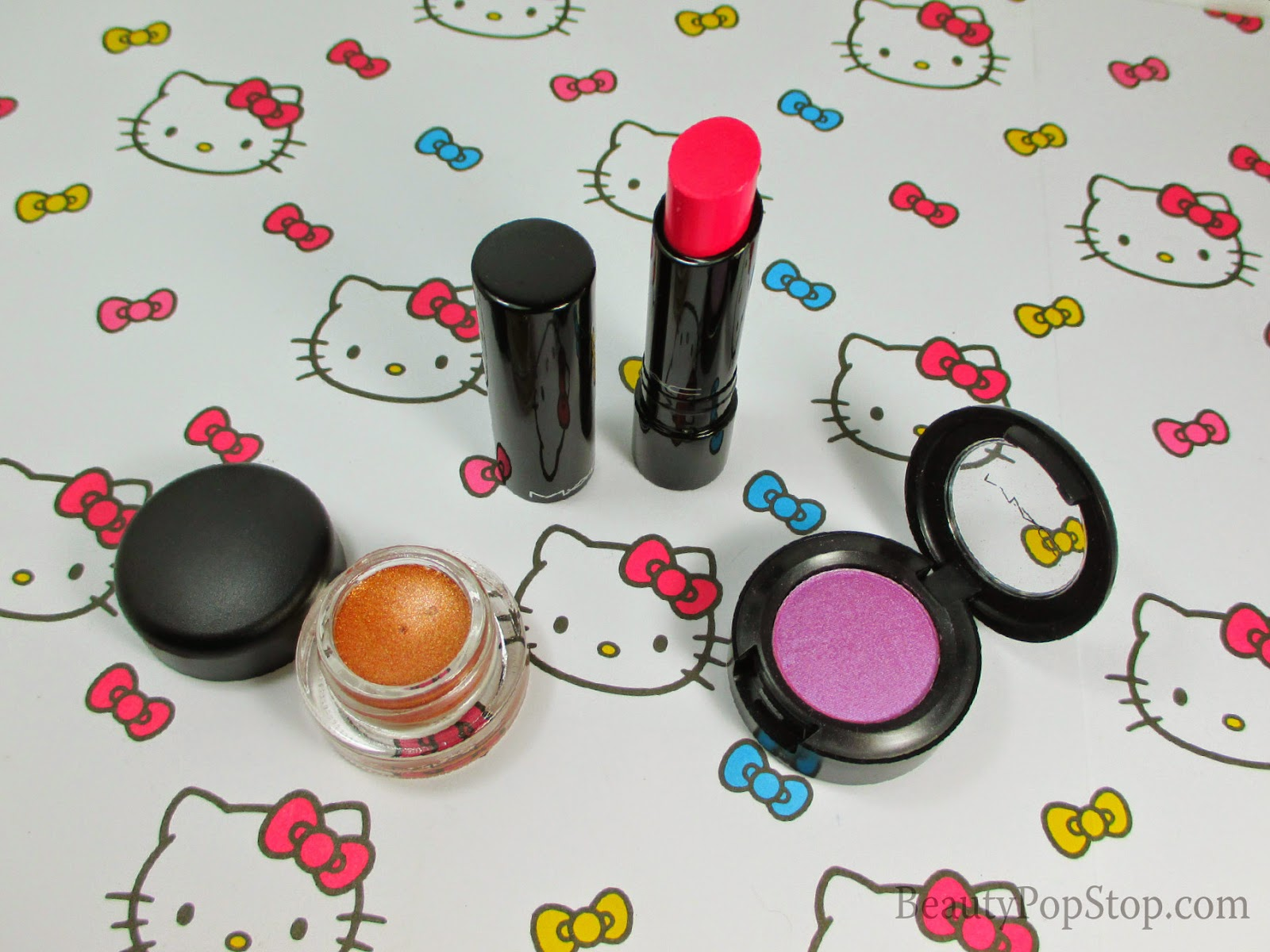 mac moody bloom swatches and review