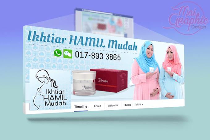 Design Facebook Timeline Cover Ikhtiar Hamil Mudah