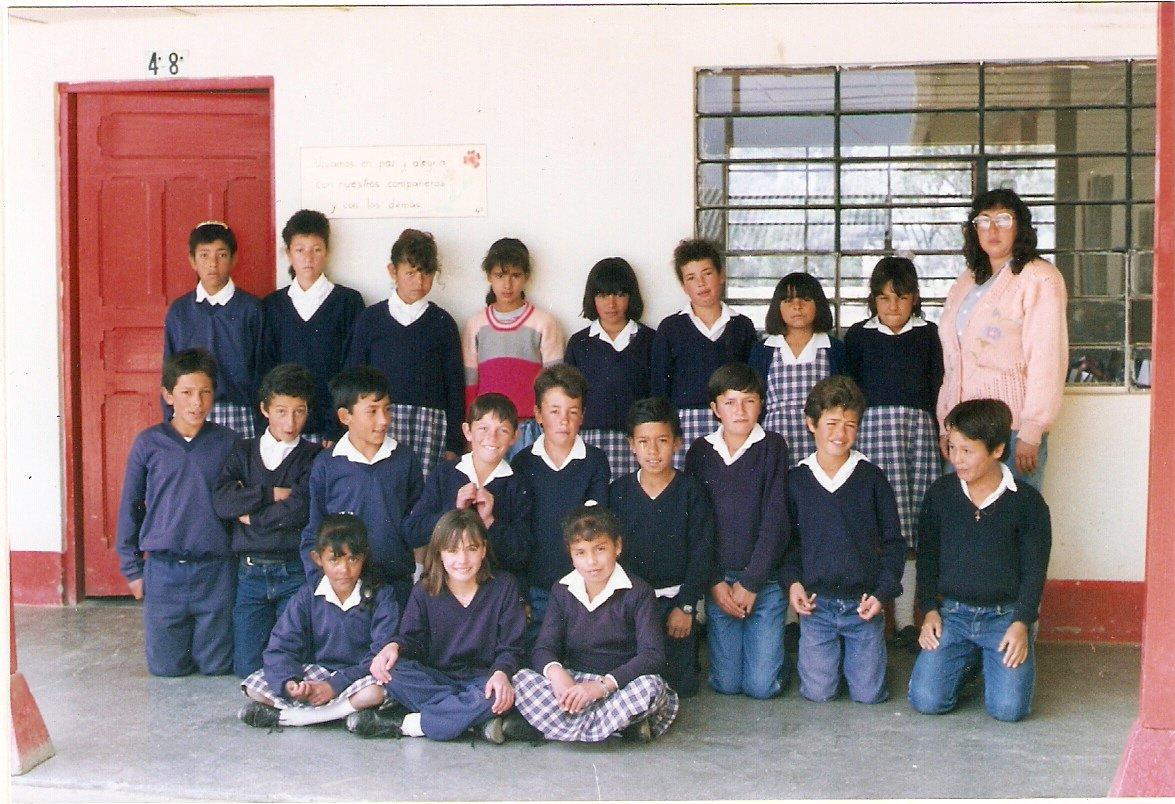 Años atrás... Promoción 5° Primaria. 1995
