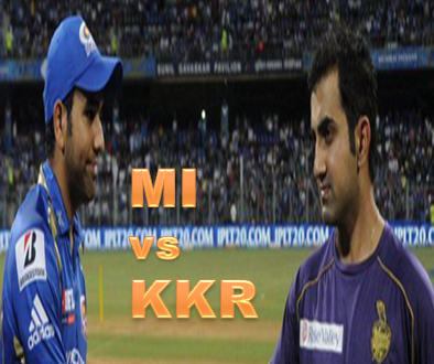 MI vs KKR Live Streaming IPL T20 2015