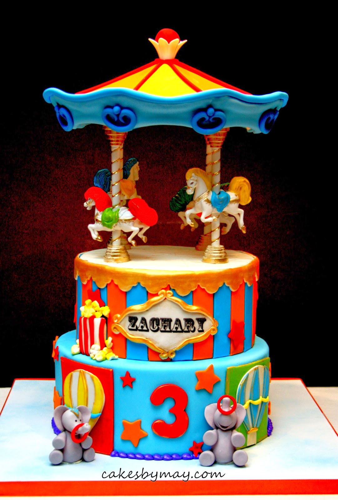 Carousel set from Wilton. You can decorate this topper to match your ...