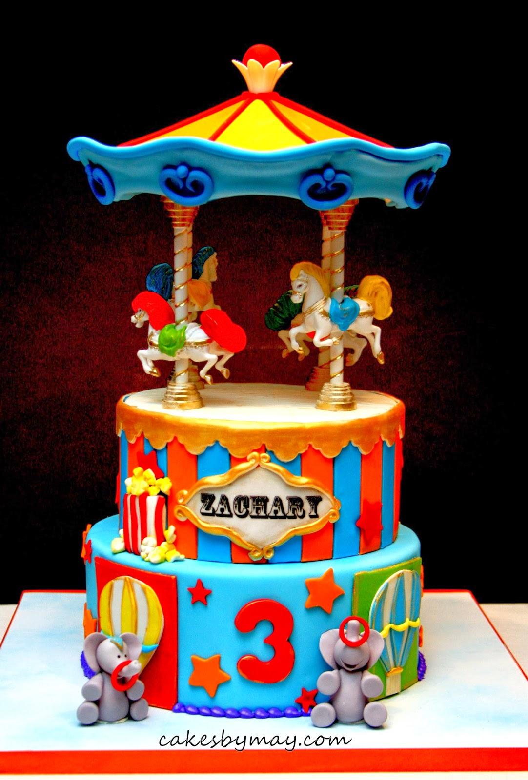 Cakes By Maylene Carnival Carousel Birthday Cake