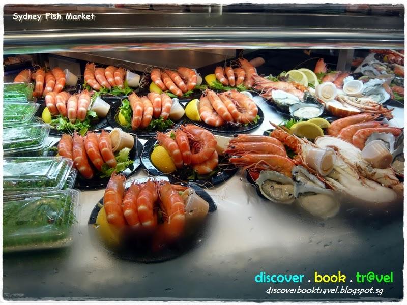 Fabulous breakfast at sydney fish market discover for Nearest fresh fish market