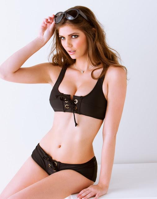 Kyra Milan in Bikini Gallery