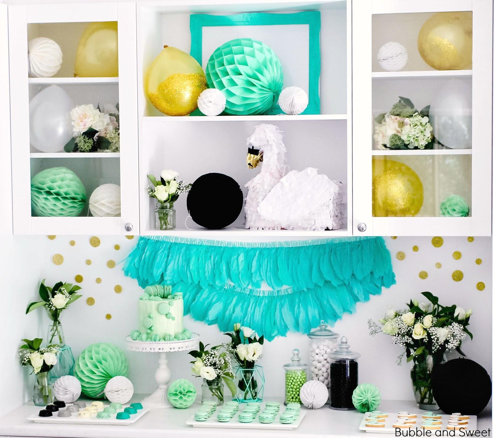 Swan Princess Birthday Party