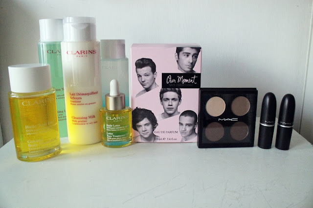 BEAUTY HAUL - MAC, Clarins, One Direction