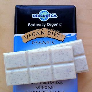 Organica vegan dairy-free white chocolate
