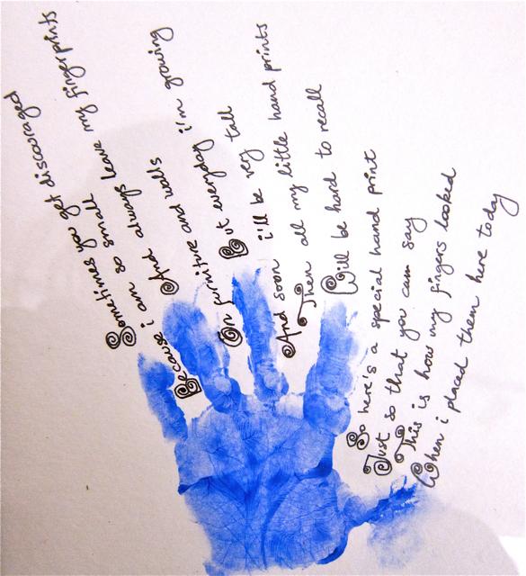 Momartscience valentine s for dad hand print poem