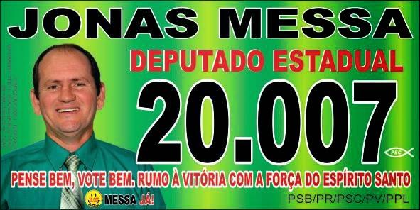 Jonas Messa - Deputado Estadual 20.007
