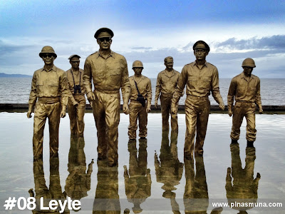 Leyte is the eighth largest island in the Philippines