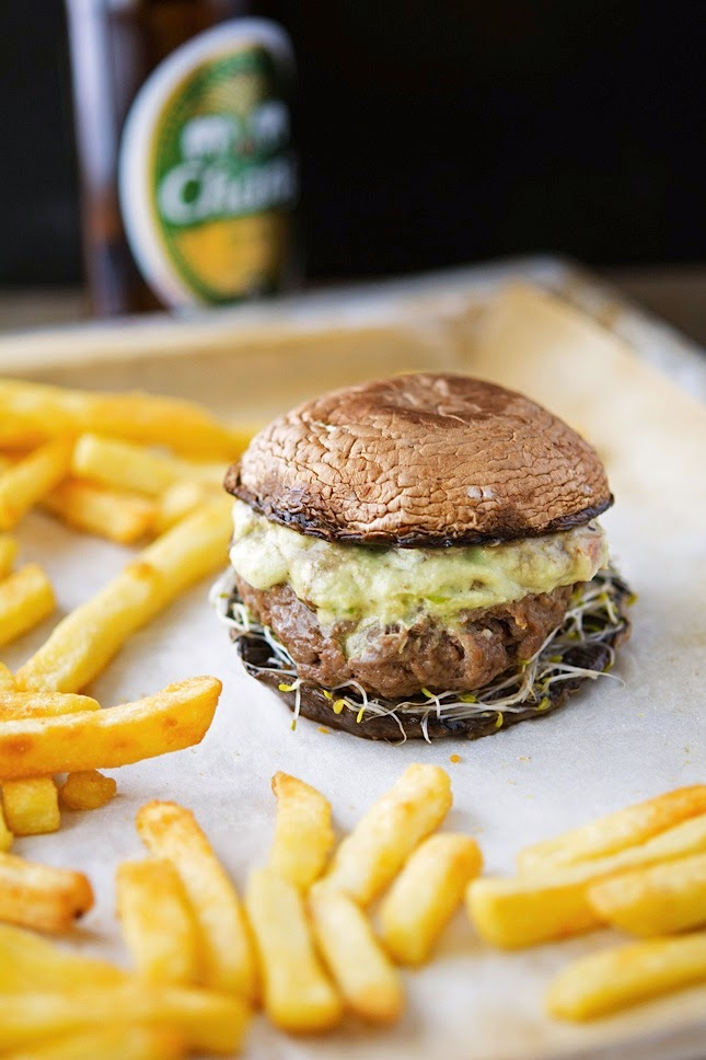how to make portabllo mushroom burger