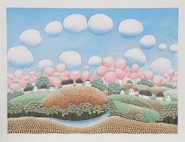 Vivo en el país de las nubes de algodón.