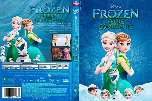 Frozen: Febre Congelante Torrent - BluRay Rip