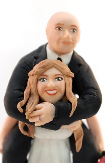 Unique wedding topper