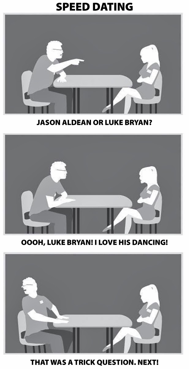 Speed dating songs