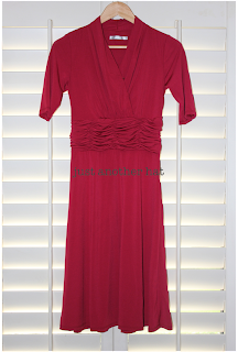 mikarose valerie dress in red full length