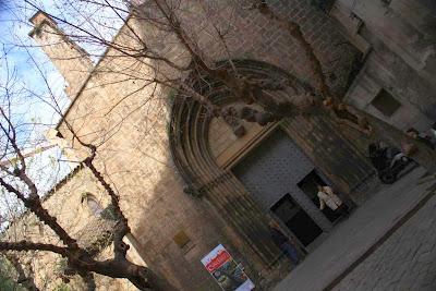 Santa Anna church inside the Barcelona Gothic Quarter