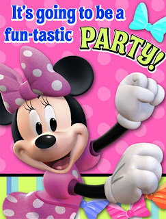 Disney Minnie Mouse Bow-tique Invitations