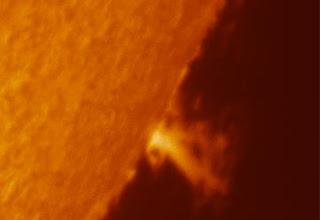 solar storms: risks of rising solar activity