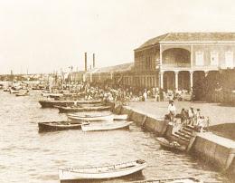 Fotograbados de la antigua Maracaibo.
