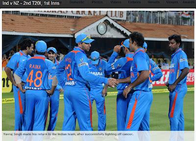 India-v-New-Zealand-2nd-T20-Yuvraj-Singh