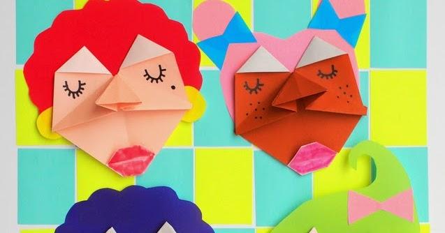Make Origami Faces