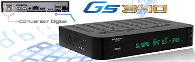 Atualizacao do receptor Globalsat GS340 V2.16
