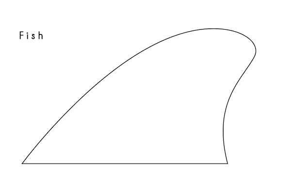 Which fin to make next poll global surf talk for Surfboard fin template