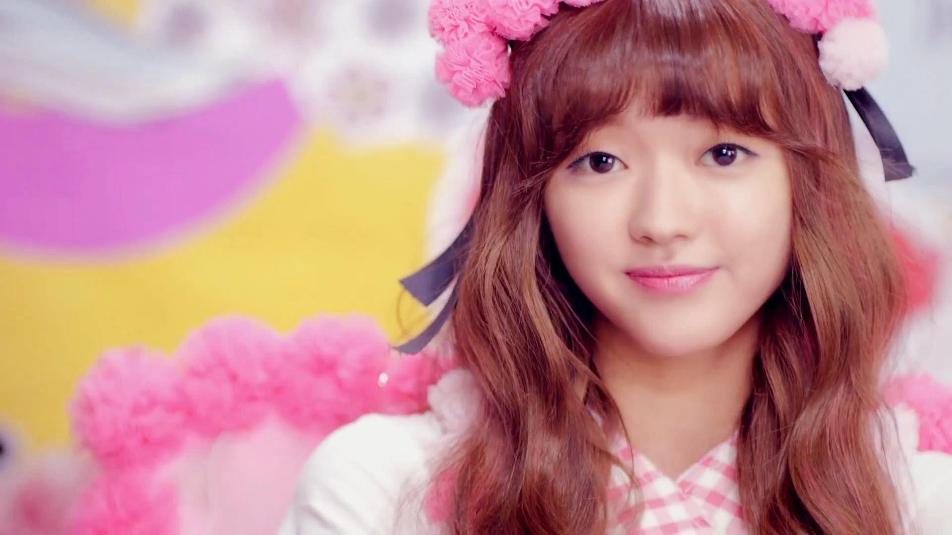 Oh My Girl's Yooa in Cupid MV