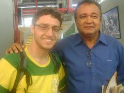 EDUARDO VASCONCELOS E DANIEL, PRESIDENTE DA UNE