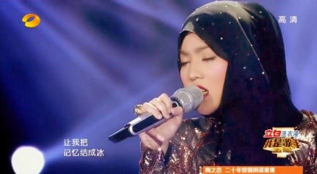 Shila Amzah Tempat Ketiga I Am A Singer 2014