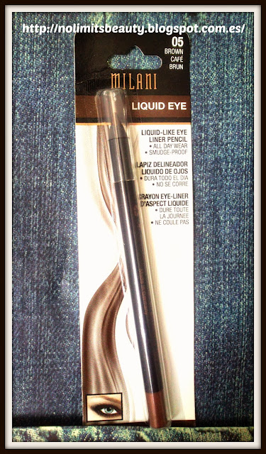 Milani: Liquid Eye pencil en 05 Brown