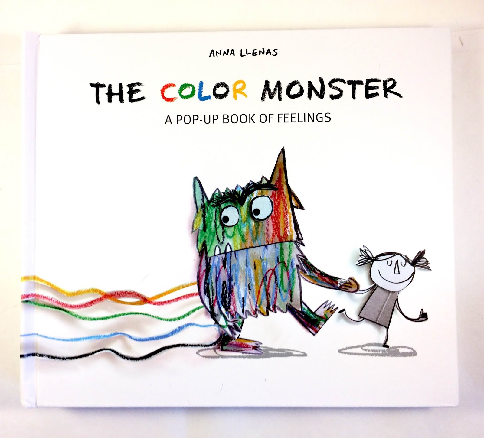 Lets Talk Picture Books THE COLOR MONSTER A POP UP BOOK OF FEELINGS