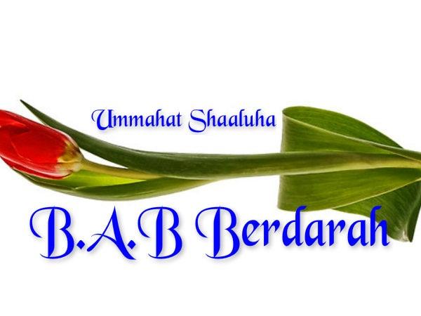 Obat Bab Berdarah