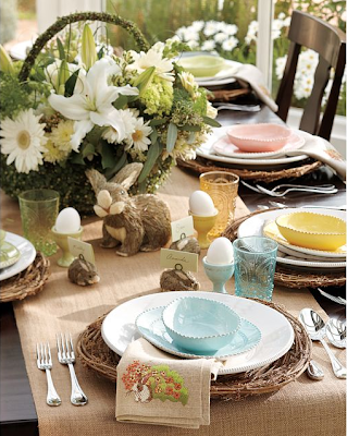 Wonderfull Easter Decorations Table Design Ideas ~ Home Designs