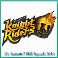 IPL 7 Kolkata Knight Riders Match Schedule and IPL 7 KKR Match Full Scorecards